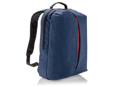 Smart rygsæk til kontor og sport, blå
