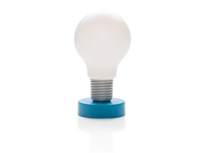 Lampe, blå