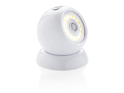 COB 360 lampe med bevægelsessensor, hvid