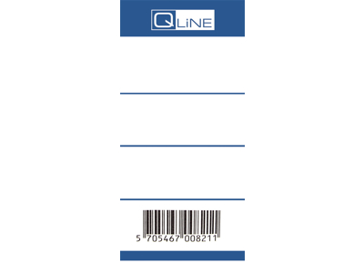 Rygetiket 50 mm Q-Line 100 stk