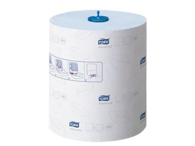 Håndklædeark Tork H1 290068 Advanced 2-lags blå 6 rl.