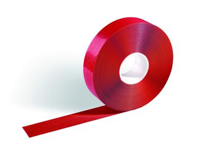 Tape afmærkning Duraline strong 50mm x 30 meter rød