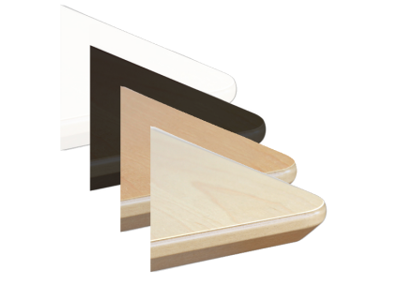 Bordplade 200 x 80 cm Sort