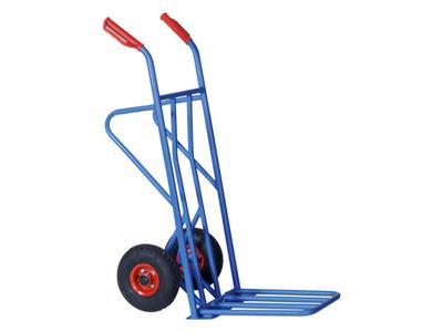Sækkevogn Blå Gummihjul 250 kg