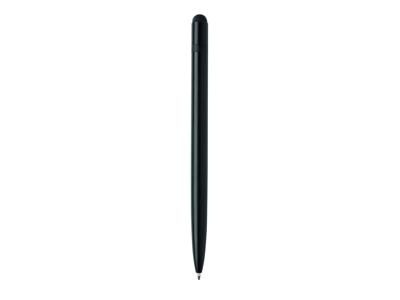 Slim aluminium stylus pen, sort
