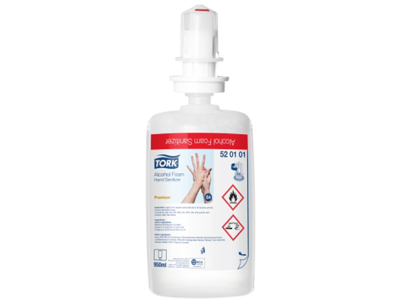 TORK Desinfektion SKUM 520401 S4 6 fl.