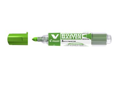 Whiteboardmarker Pilot Begreen rund grøn
