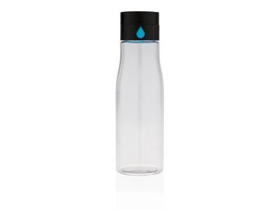 Aqua hydration tracking tritan flaske, gennemsigtige