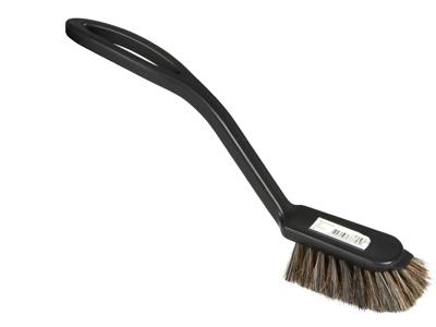 Opvaskebørste Sort plast blød hår