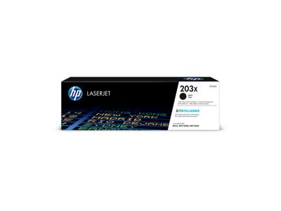 HP 203X lasertoner CF540X sort