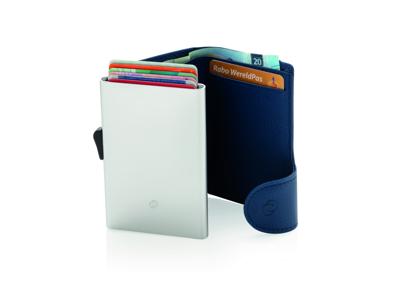 C-Secure RFID kortholder & pung, blå
