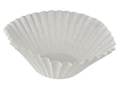 Filterposer skålfilter hvid
