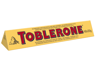Chokolade Toblerone XL 1,68 kg.