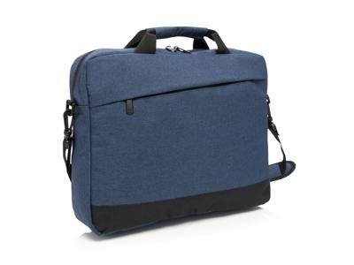 """Trend 15"""" laptop taske, marine blå"""