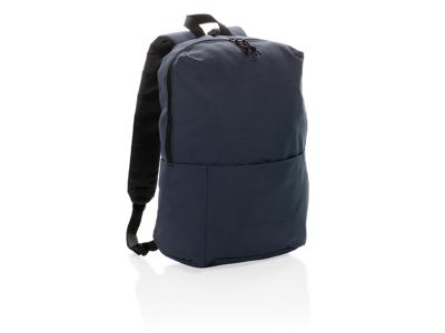 PVC fri rygsæk i afslappet stil, marine blå