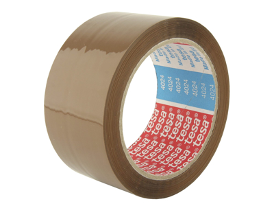 Tape pakke Tesa PP acryl 4024 48 mm x 66 meter brun
