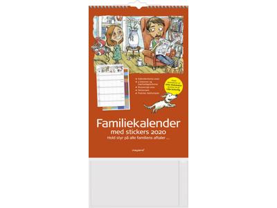 Familiekalender, 5 kolonner, FSC Mix 20066240
