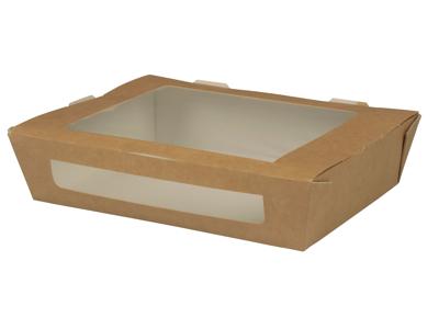 Take away bakke m/rude, 20x12x4,5cm, 250 stk.