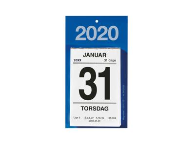 Afrivningskalender med bagsidetekst, FSC Mix 20252000