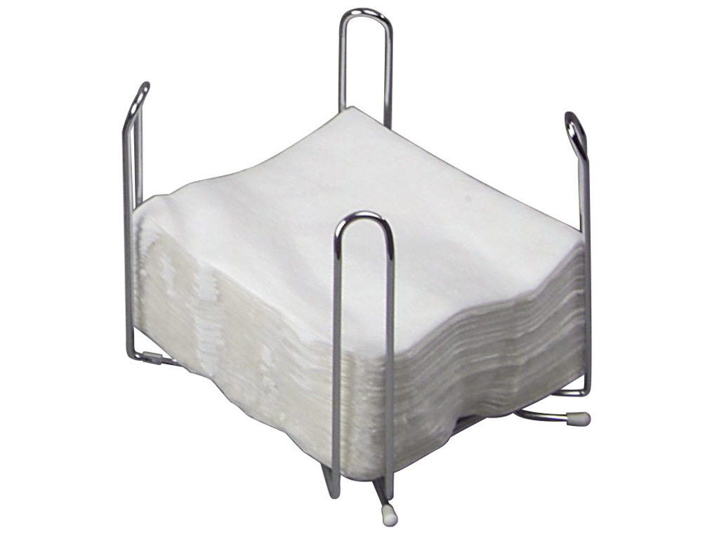Servietstativ metal t/33x33cm 1/4 fold