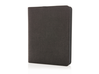 Notesbog med powerbank 3.000 mAh, sort