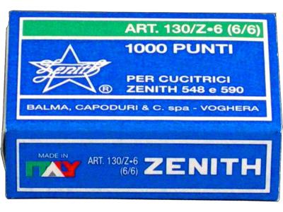 Hæfteklammer 130/Z zink 1000 stk.