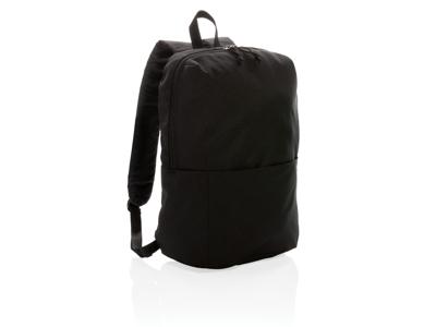 PVC fri rygsæk i afslappet stil, sort