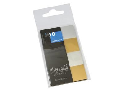 Index Faner 20x42 mm Sølv/Guld
