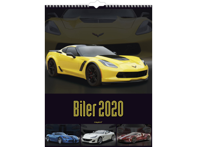 Vægkalender, Biler, FSC Mix 20066470