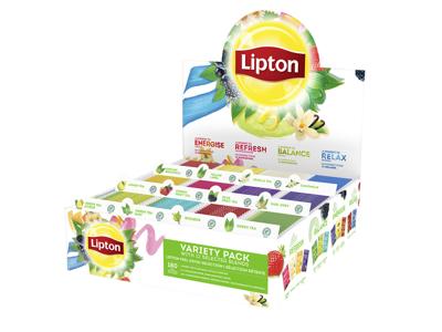 Te Lipton assorteret 15 brev/rum 12 rum