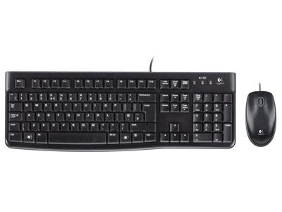 Tastatur + Mus Logitech MK120