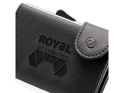 C-Secure RFID kortholder & pung, sort