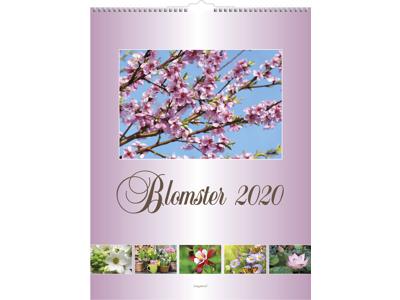 Vægkalender, Blomster, FSC Mix 20066330