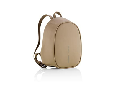 Elle Fasion - tyverisikker rygsæk, brun