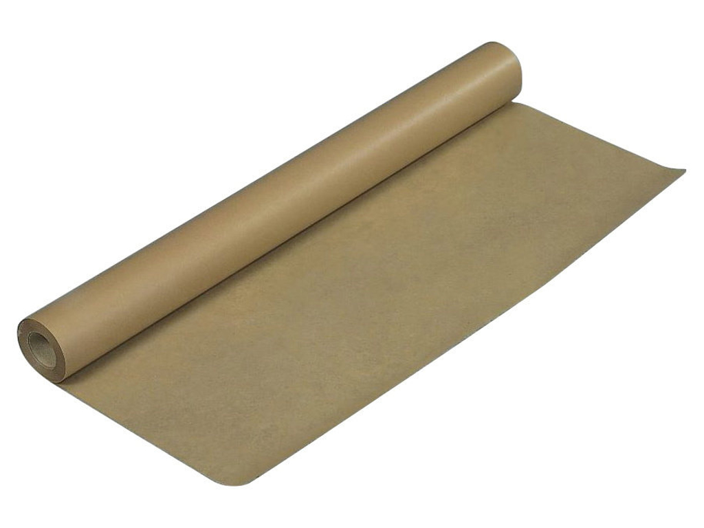 Indpakningspapir brun 70 cm x 50 meter 65 gram
