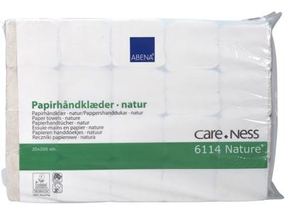 Håndklædeark natur 2-lags 4000 ark