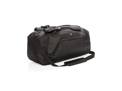 Swiss Peak RFID sports duffel / rygsæk, sort
