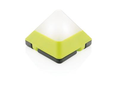 Trekantet mini lanterne, lime grøn