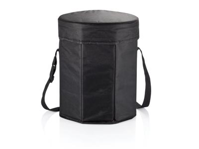 Køletaske / skammel, sort