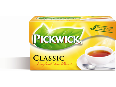 Te Pickwick Original English 20 breve