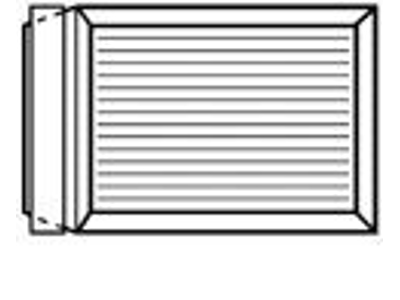 Kuverter C4 med papbagside nr. 3 11743 250 stk.