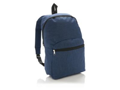 Basic to-tonet rygsæk, blå