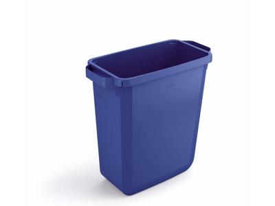 Affaldspand Durabin 60L. blå rektangulær