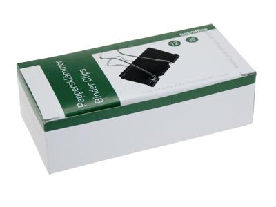 Papirklemme Foldback 30mm. 12 stk.
