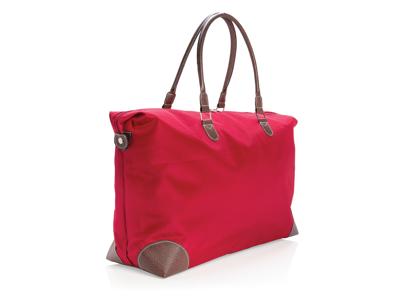 Weekend rejsetaske, rød