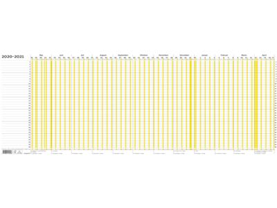 Ferieplanner 2020/2021, FSC Mix 20104000
