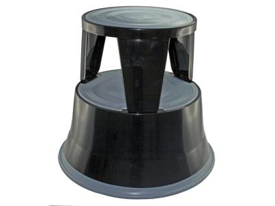 Elefantfodstøtte Metal Sort højde 410 mm