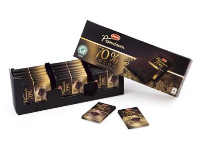 Chokolade Marabou Premium mørk 12x21 stk.