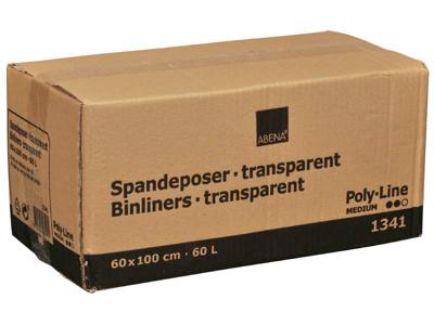 Spandeposer 60x100cm 60L LDPE klar