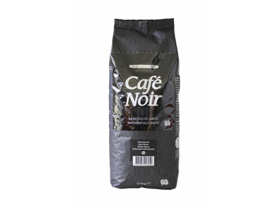 Kaffe Café Noir hele bønner 1 kg.